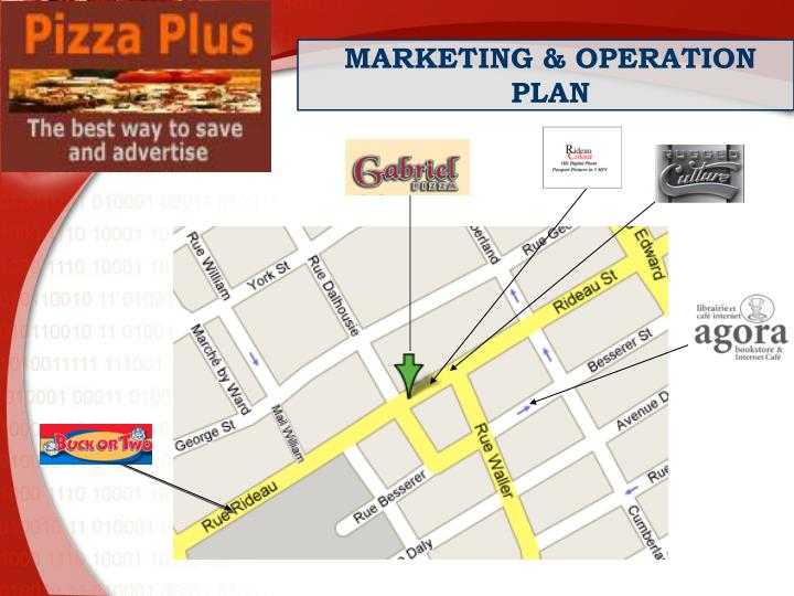 MARKETING & OPERATION PLAN