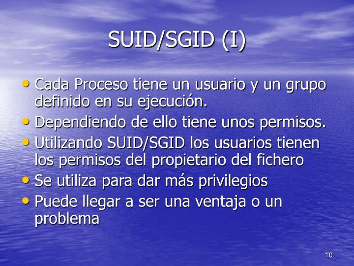 SUID/SGID (I)