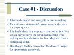 case 1 discussion