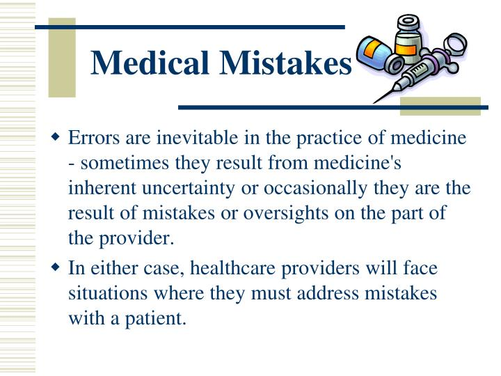 Medical Mistakes