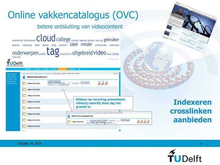 Online vakkencatalogus (OVC)