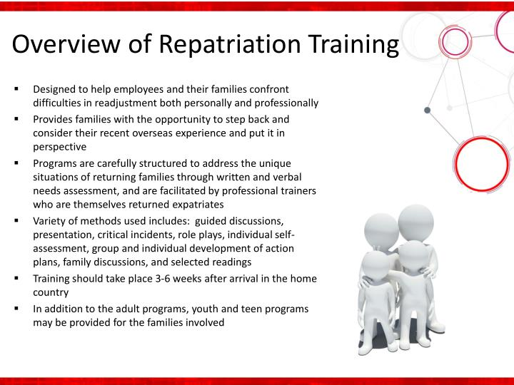Overview of Repatriation Training