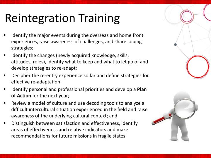 Reintegration Training