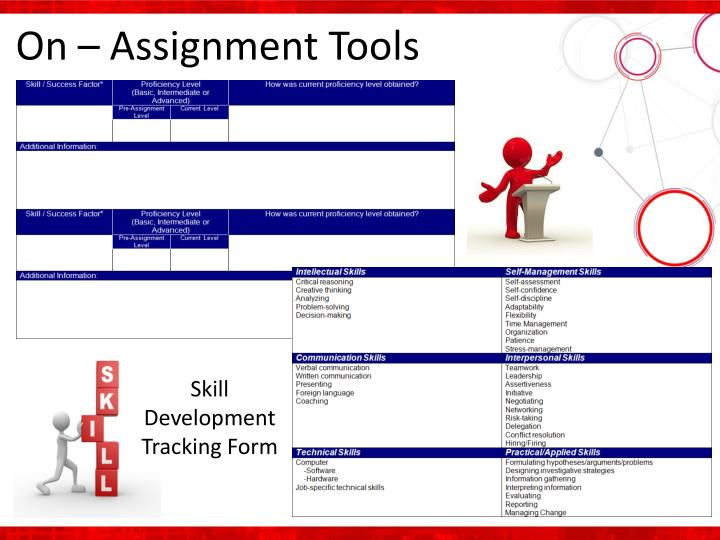 On – Assignment Tools