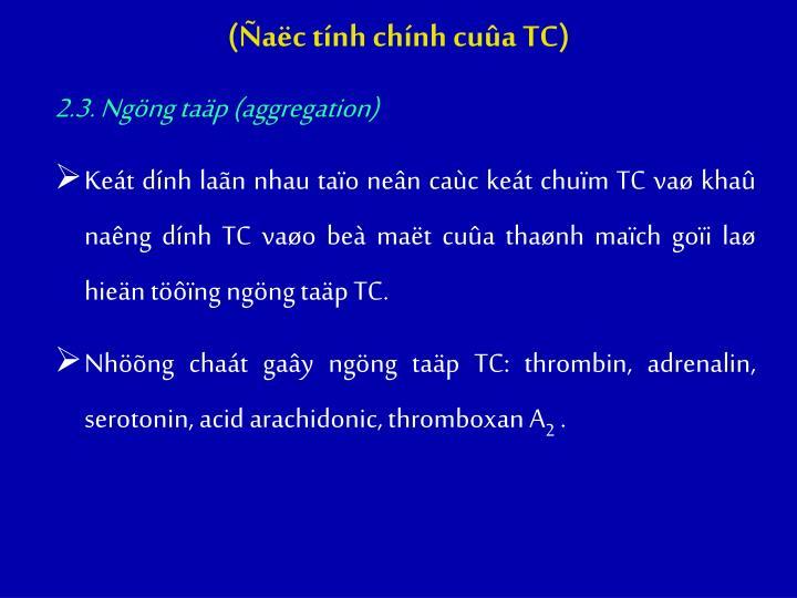(ac tnh chnh cua TC)