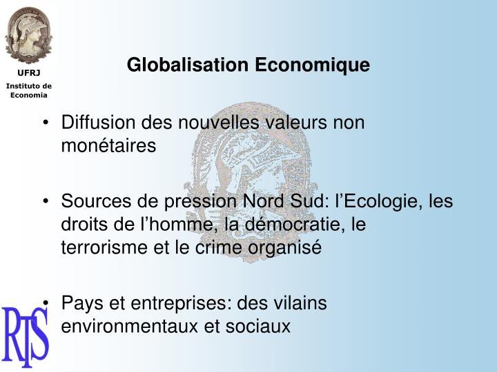 Globalisation Economique