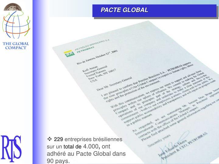 PACTE GLOBAL