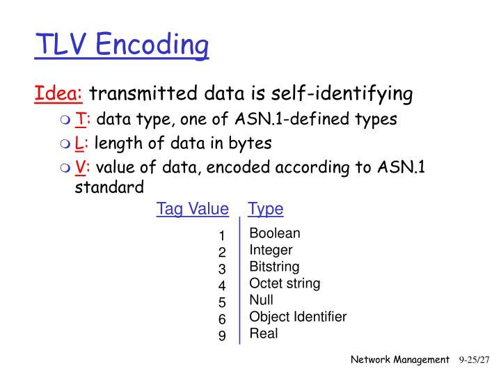 TLV Encoding