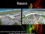 doprava letisko norman international airport