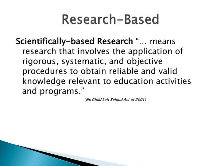 Research-Based