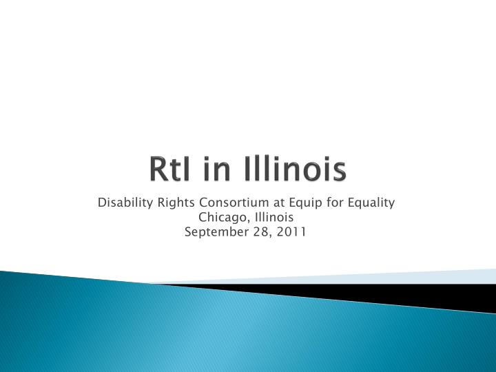 Rti in illinois
