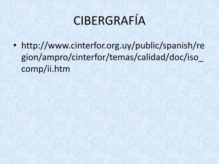 CIBERGRAFÍA