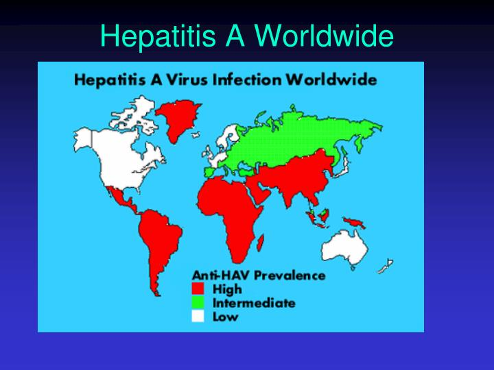 Hepatitis A Worldwide