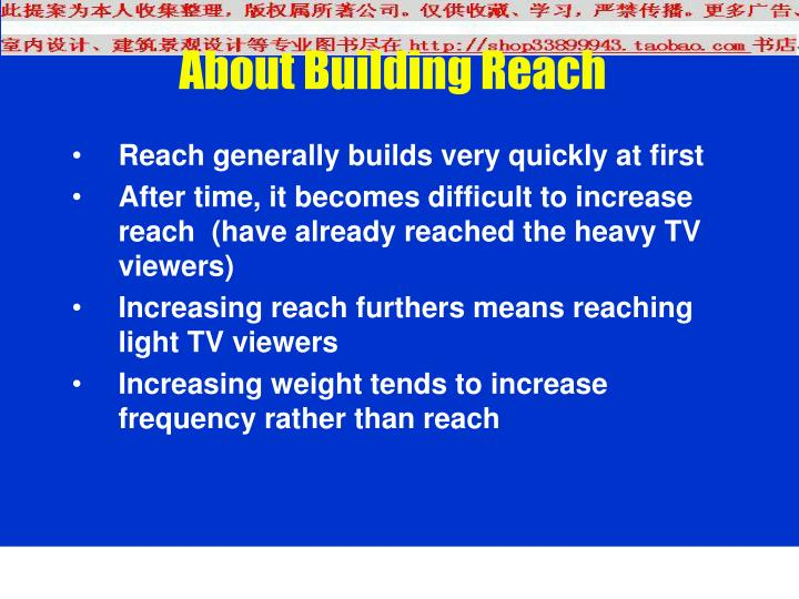 About Building Reach