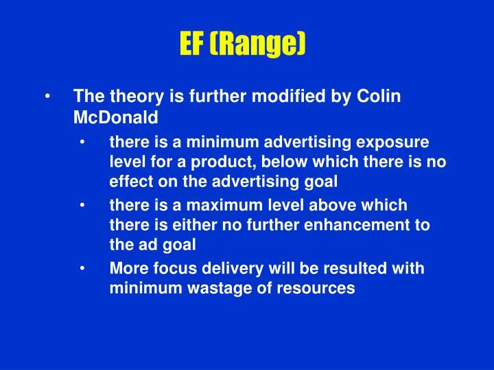 EF (Range)