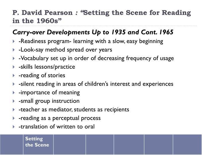 P. David Pearson