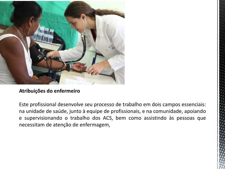 Atribuies do enfermeiro