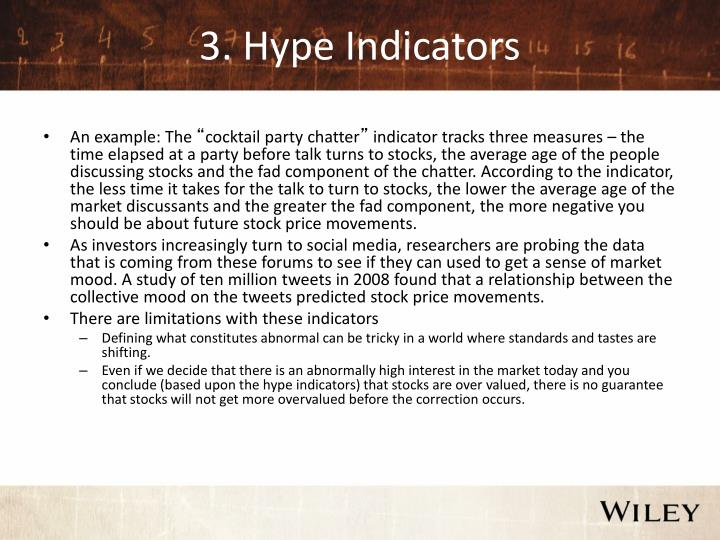 3. Hype Indicators