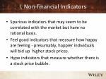 i non financial indicators
