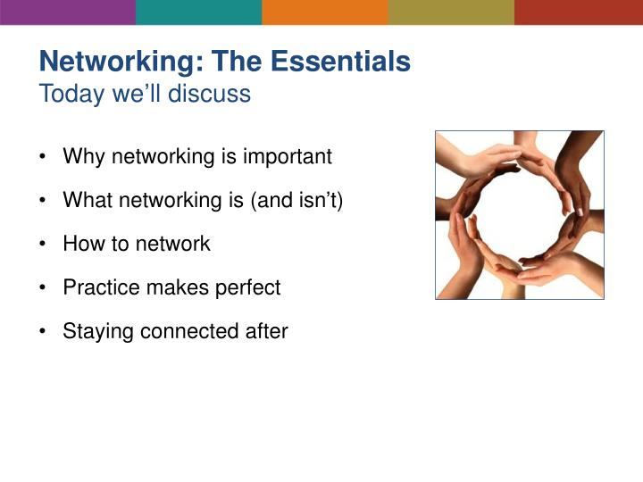 Networking: The Essentials