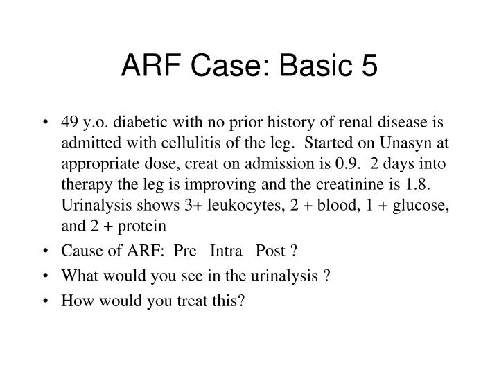 ARF Case: Basic 5