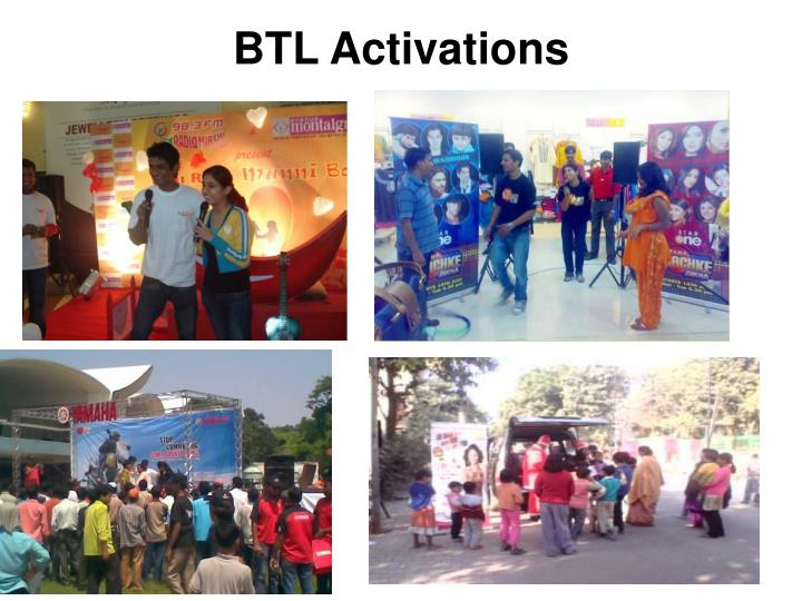 BTL Activations