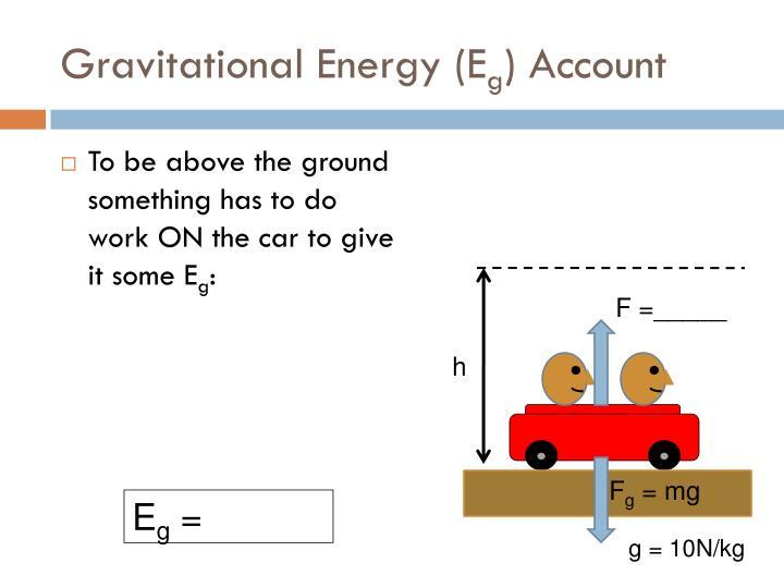 Gravitational Energy (E