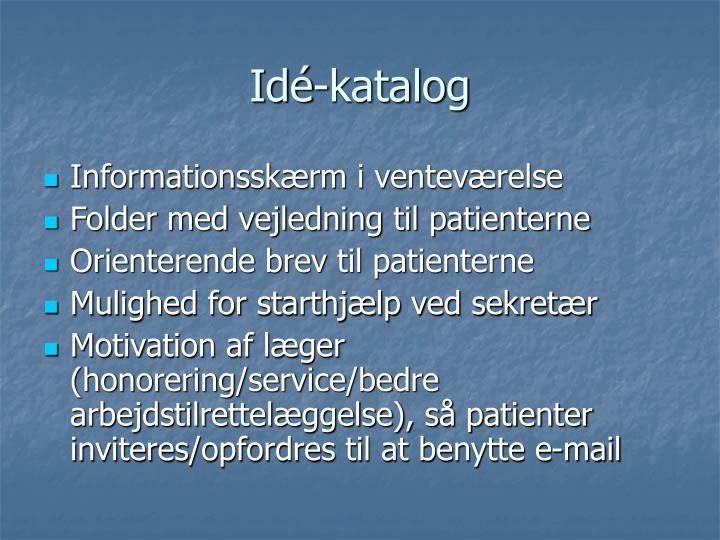 Idé-katalog