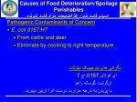causes of food deterioration spoilage perishables1
