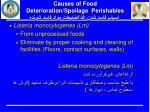 causes of food deterioration spoilage perishables2