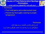 causes of food deterioration spoilage perishables5