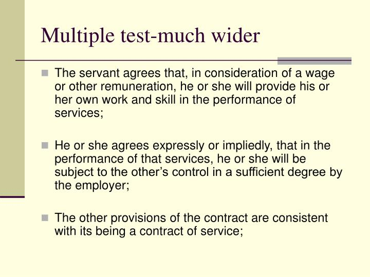 Multiple test-much wider