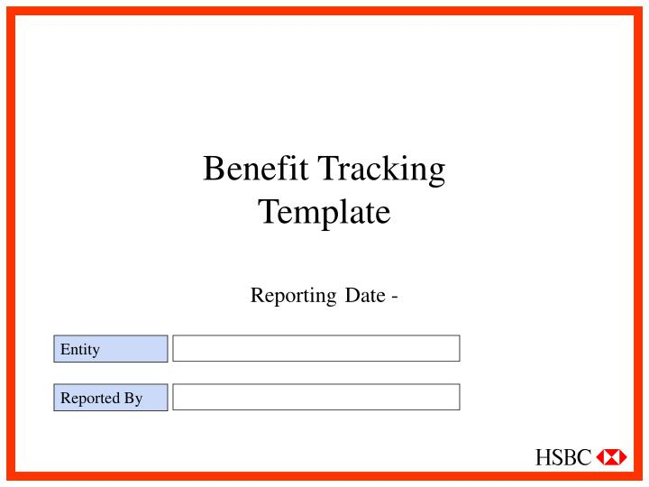 Benefit Tracking