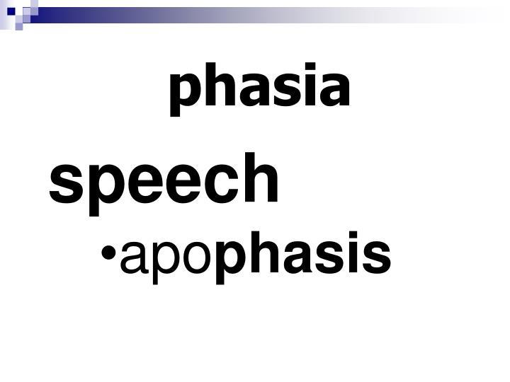 phasia