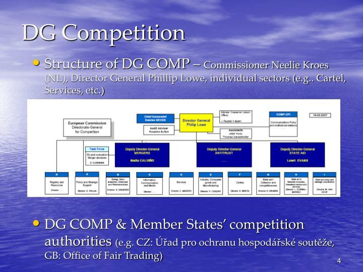 DG Competition