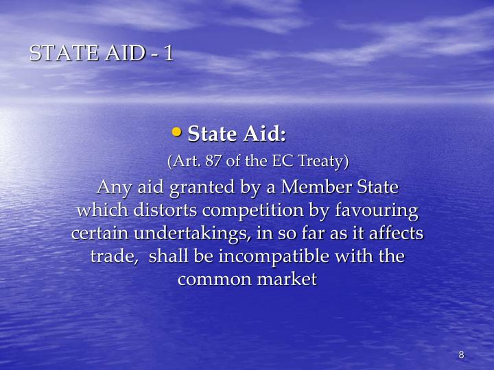 STATE AID - 1