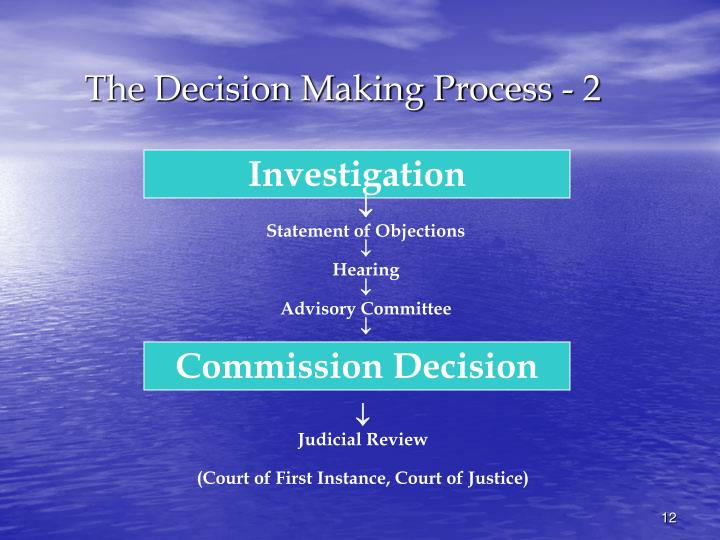 The Decision Making Process - 2