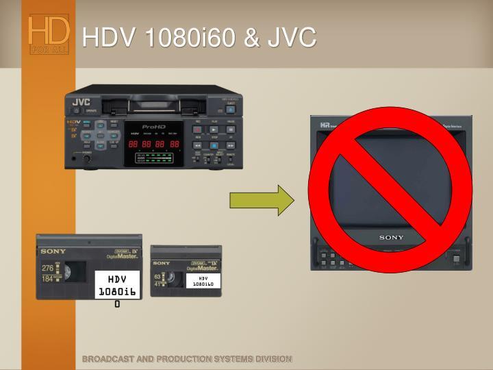 HDV 1080i60