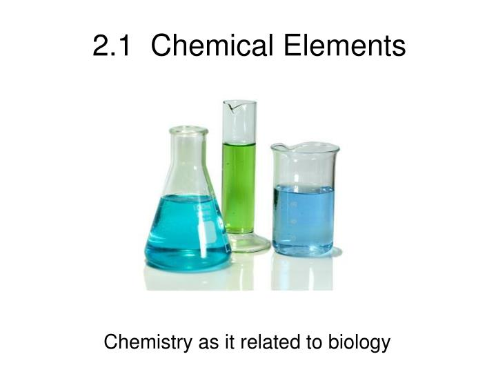 2 1 chemical elements
