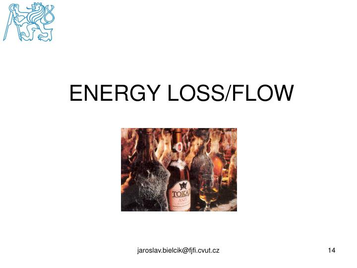 ENERGY LOSS/FLOW