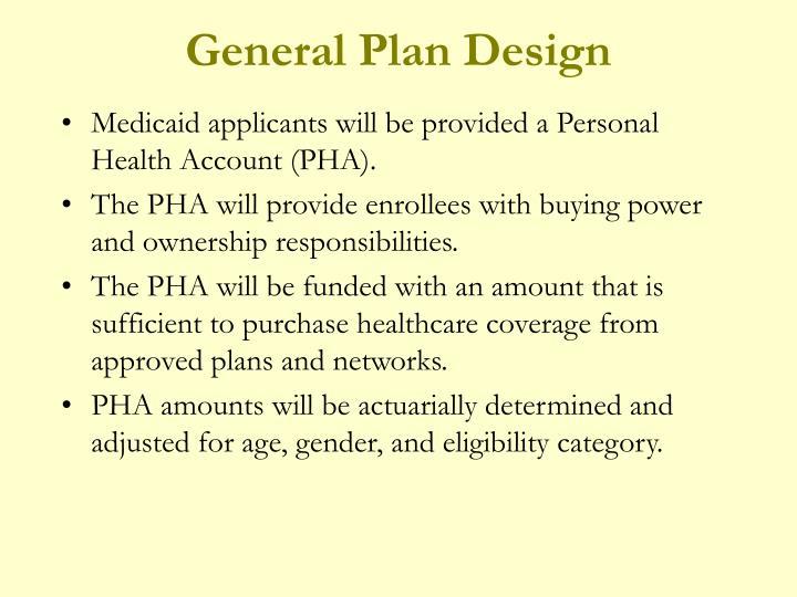 General Plan Design