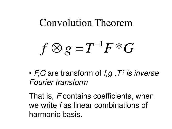 Convolution Theorem