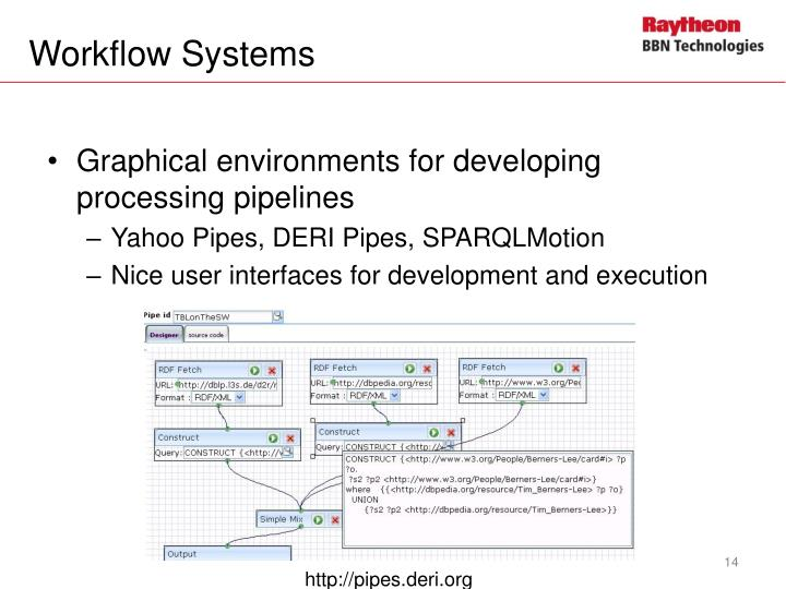 Workflow Systems