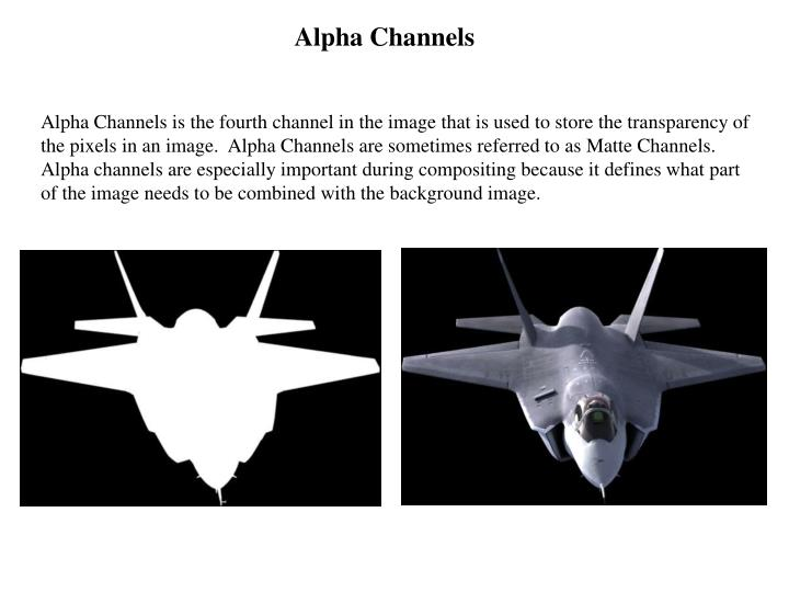 Alpha Channels