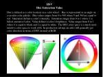 hsv hue saturation value
