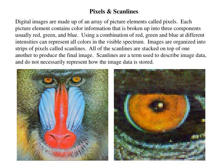 Pixels & Scanlines