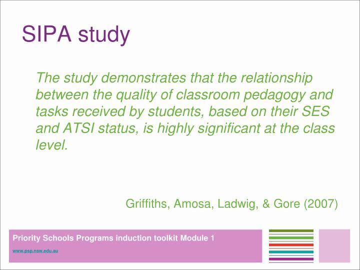 SIPA study