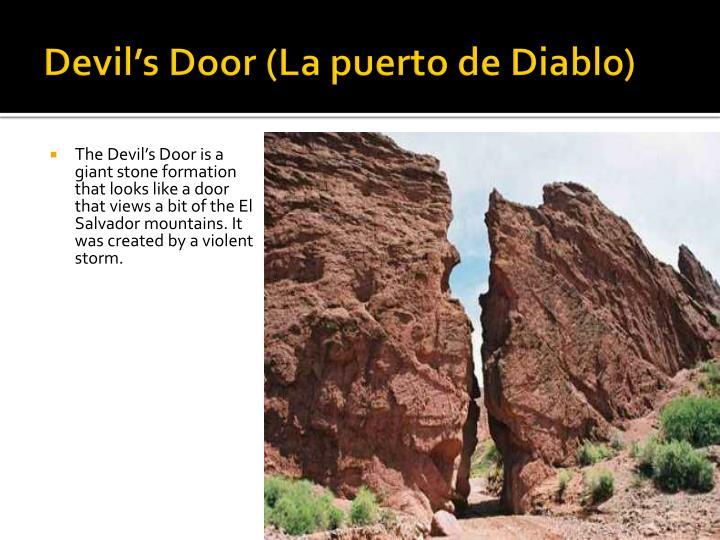 Devil's Door (La puerto de Diablo)