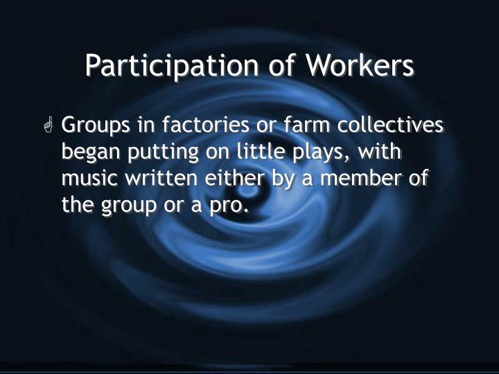 Participation of Workers