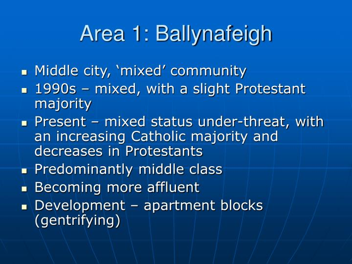Area 1: Ballynafeigh